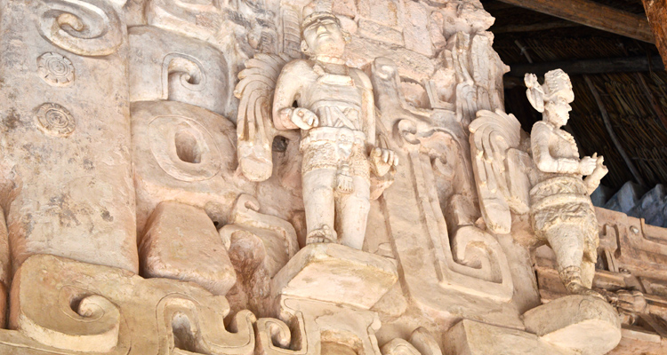 Древняя архитектура майя в Экбалам
