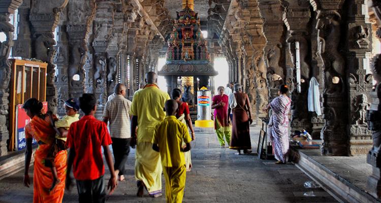 В древних храмах Канчи