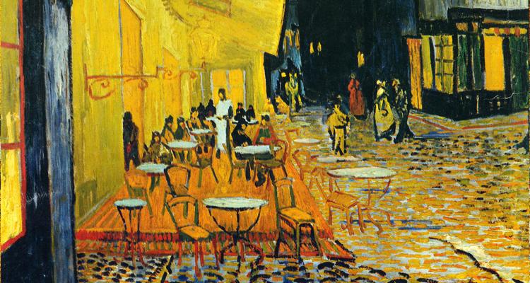 Винсент Ван Гог, Ночная терраса кафе в Арле