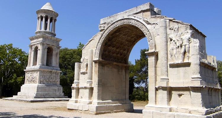 Римский город в Сан Реми де Прованс