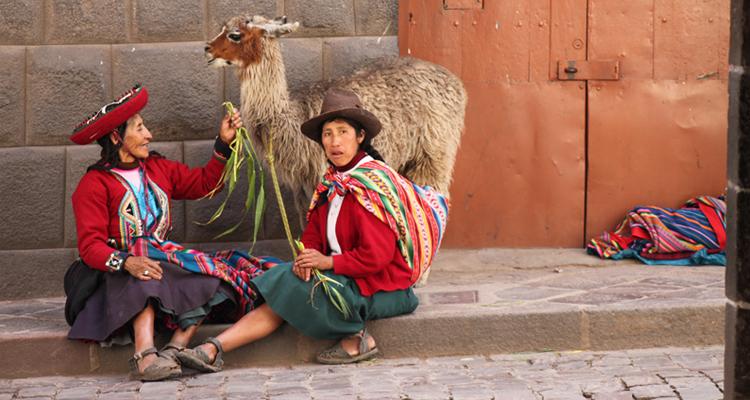 Жители Анд