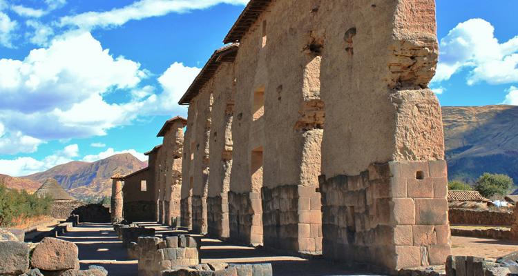 Руины дворца Виракоча в Ракчи