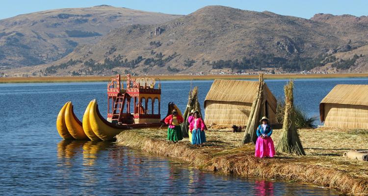 Озеро Титикака и его жители
